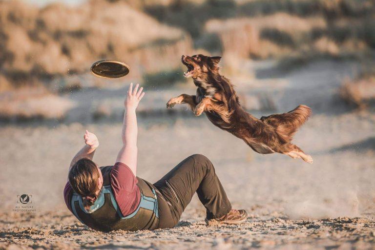 Workshop Frisbee door Daphné Willaert